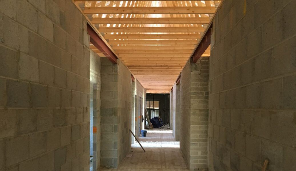 Harris Irwin News - Under construction